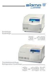 Tischkühlzentrifuge Refrigerated Centrifuge Zentrifuge ... - Reoterm