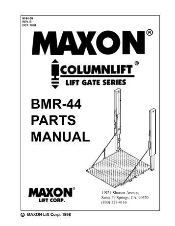 cub cadet z force 44 wiring diagram maxon bmraw 44 wiring diagram lift corp. customer servi #3