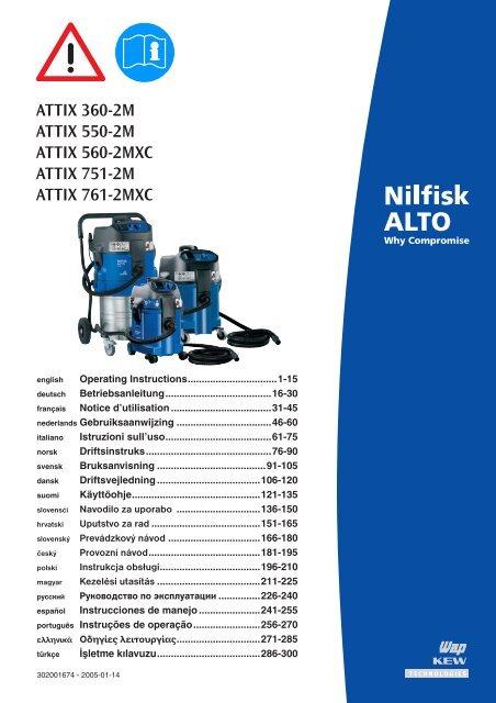 Dustclass_m-DE - Nilfisk PARTS