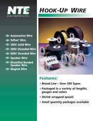 Hook-Up Wire Brochure (PDF) - NTE Electronics