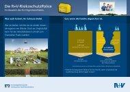Die R+V-RisikoschutzPolice - Volksbank Remseck eG
