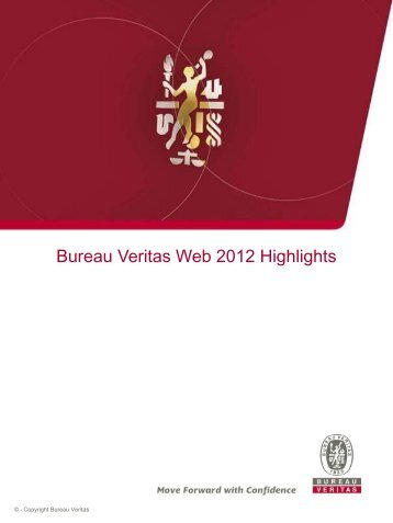 to download the 2012 Highlights - Bureau Veritas