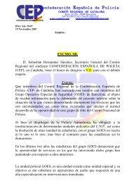 goes en el catalogo puestos de trabajo - Confederación Española ...
