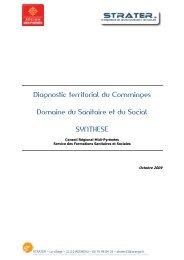 Synthèse du diagnostic territorial du Comminges - Carif Oref Midi ...