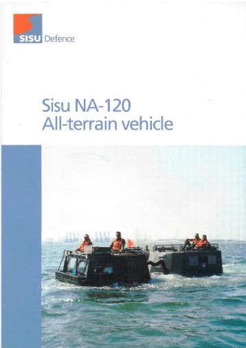 SISU NA 120 Carrier - Special Offroad Vehicles