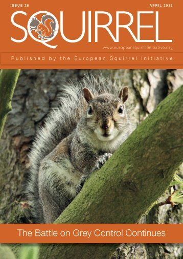 ESI newsletter issue 26.indd - European Squirrel Initiative