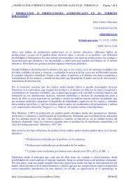 Â¿ PRODUCCION O PRODUCCIONES AUDIOVISUALES EN EL ...