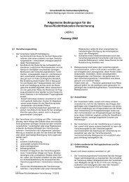 Textsammlung Versicherungsrecht