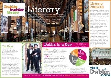 Literary - Visit Dublin