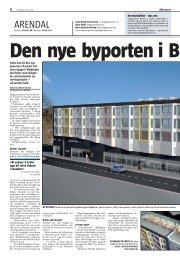 Den nye byporten, Agderposten 05.06.2010 - Arendal kommune