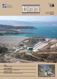 tm Dergi 26.Sayı - Türk Müşavir Mühendisler ve Mimarlar Birliği