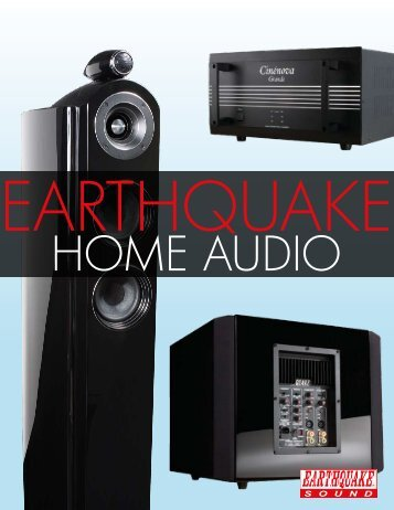 Home Audio Brochure