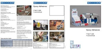 Epoxy Adhesives Epoxy Adhesives - DanLube