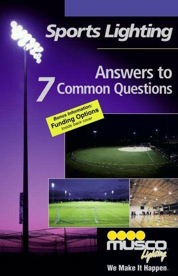 Musco Sports Lighting Brochure - SCMAF