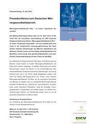 im Fokus: Psychische Gesundheit - Erster Deutscher ...