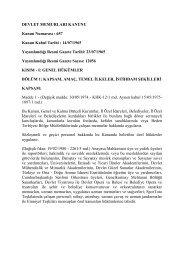657 Sayılı Devlet Memurları Kanunu - Erciyes Üniversitesi Tıp ...