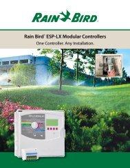 Rain Bird® ESP-LX Modular Controllers - SPRINKLER TALK
