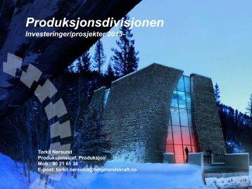 KOSTNADSFORDELING 2000-regnskap - 460 mill ... - Helgelandskraft
