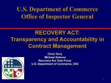 Transparency and Accountability in Contract Management - Office of ...