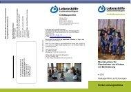 Wochenendseminare 2013 für Geschwisterkinder - Lebenshilfe ...