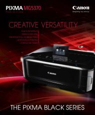 CREATIVE VERSATILITY - Canon in South and Southeast Asia