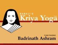 Badrinath Ashram - Babaji's Kriya Yoga