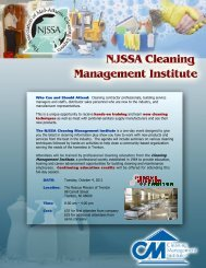 Who Can and Should Attend: Cleaning contractor professionals ...