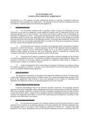 Consulting Services Agreement | F5 Networks