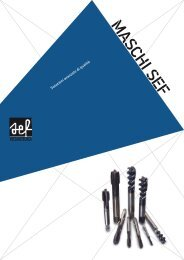 Catalogo Maschi Sef MS 04/13 - SEF meccanotecnica