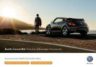 Beetle Convertible Genuine Volkswagen Accessories