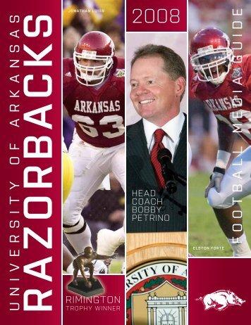 2008 football schedule - ArkansasRazorbacks.com