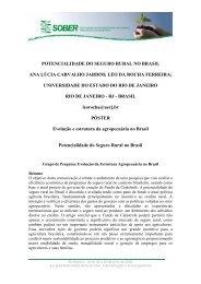 potencialidade do seguro rural no brasil ana lúcia ... - SOBER