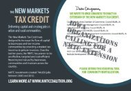 New Markets Tax Credit in Iowa - New Markets Tax Credit Coalition