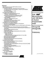 ATmega128(L) Preliminary - AVRcard