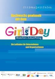 Aktionsleitfaden für Unternehmen und Organisationen - Girls'Day