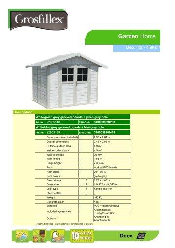 Download - Grosfillex Garden Home