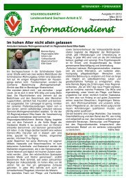 Ausgabe 1-2013 - Volkssolidarität Bundesverband e.V.