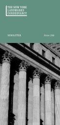 Download Newsletter (PDF) - The New York Landmarks Conservancy
