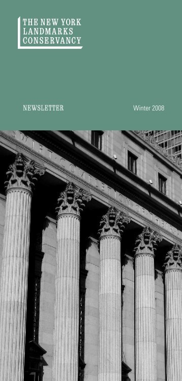 Download Newsletter (PDF) - The New York Landmarks Conservancy