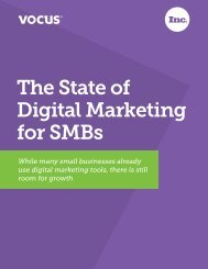 The State of Digital Marketing for SMBs - Inc.com