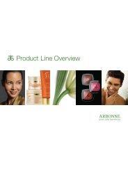 Product Line Overview - Arbonne