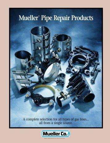 Mueller Pipe Repair Products