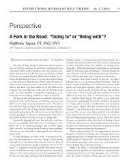 Perspective - iayt publications hosted by metapress