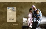 amherst h. wilder foundation 2007 annual report as good as our ...