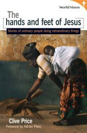 The Hands and Feet of Jesus - Bible Reading Fellowship