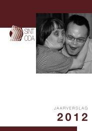 Jaarverslag 2012 - vzw Stijn