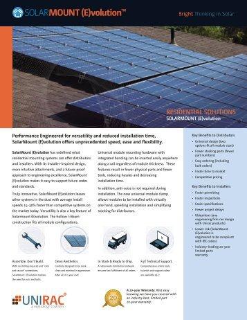 SolarMount-E Sales Brochure