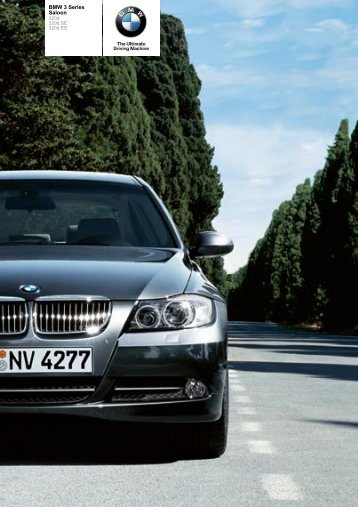 The BMW 3 Series 320d Saloon