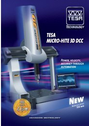 TESA MICRO-HITE 3D DCC