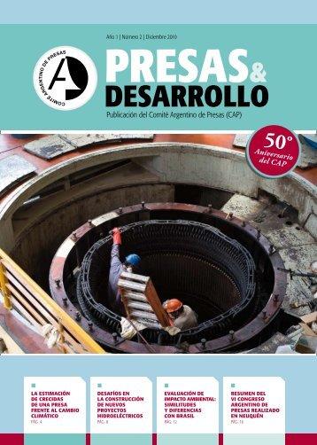 dESARROllO - Comité Argentino de Presas